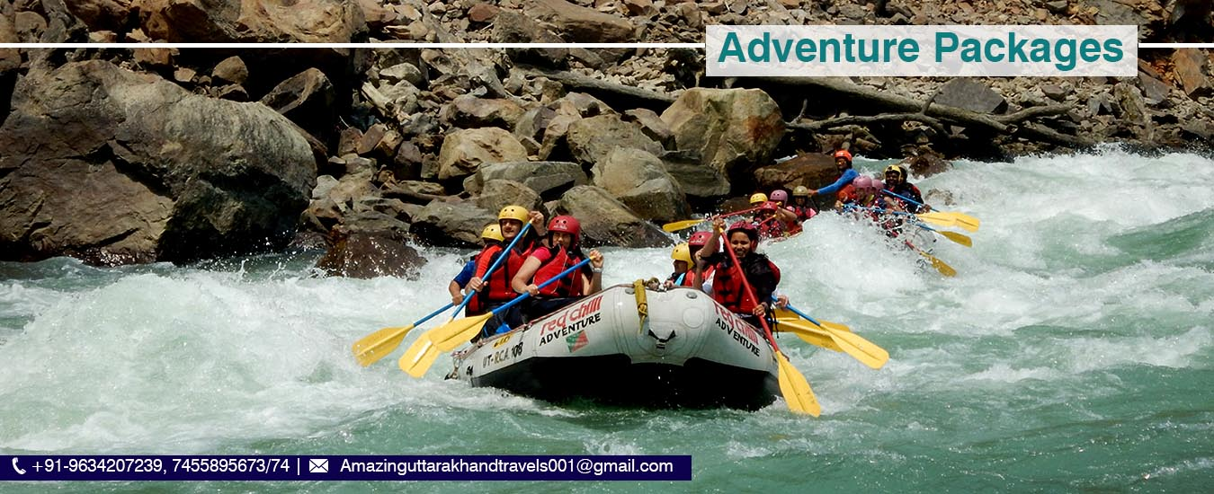 adventure tour package