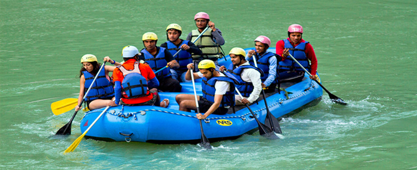 Weekend Adventure River Rafting