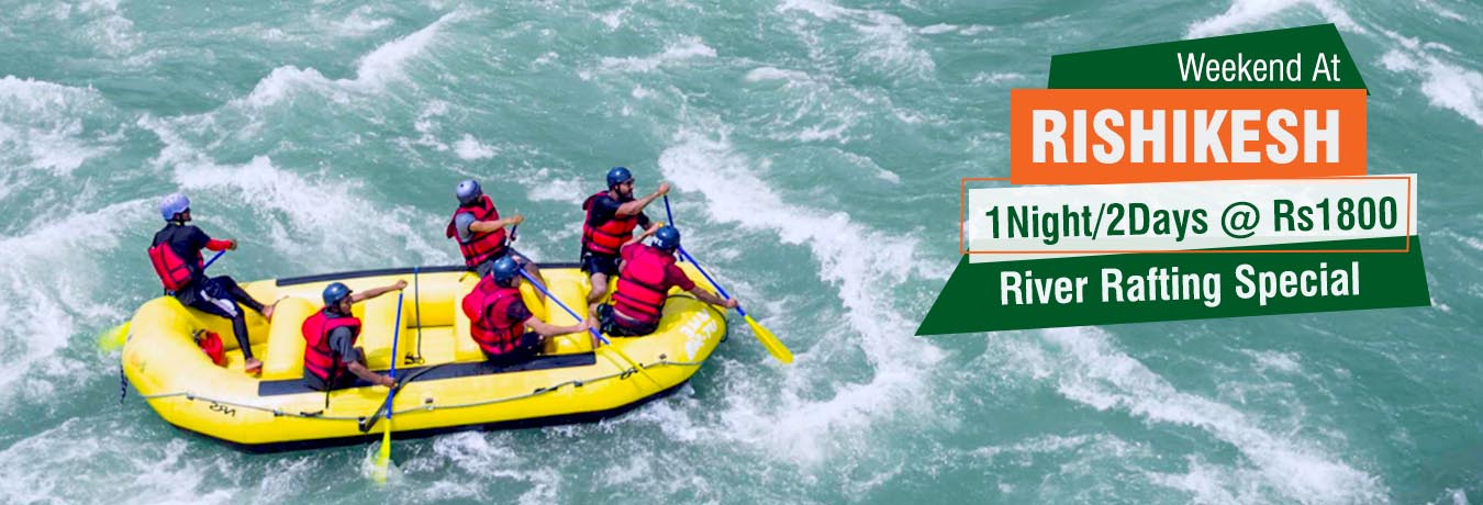 special adventure packages river rafting