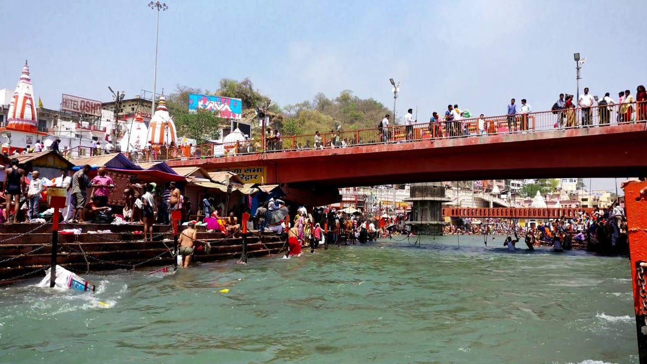 Ghats – Numerous river banks with Ganga (9th Place to Visit in Haridwar)
